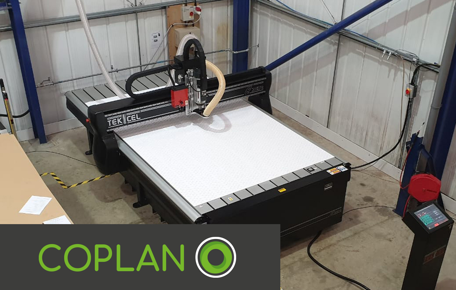 Coplan Ltd get on the case with a New Tekcel EXR 2m x 3m